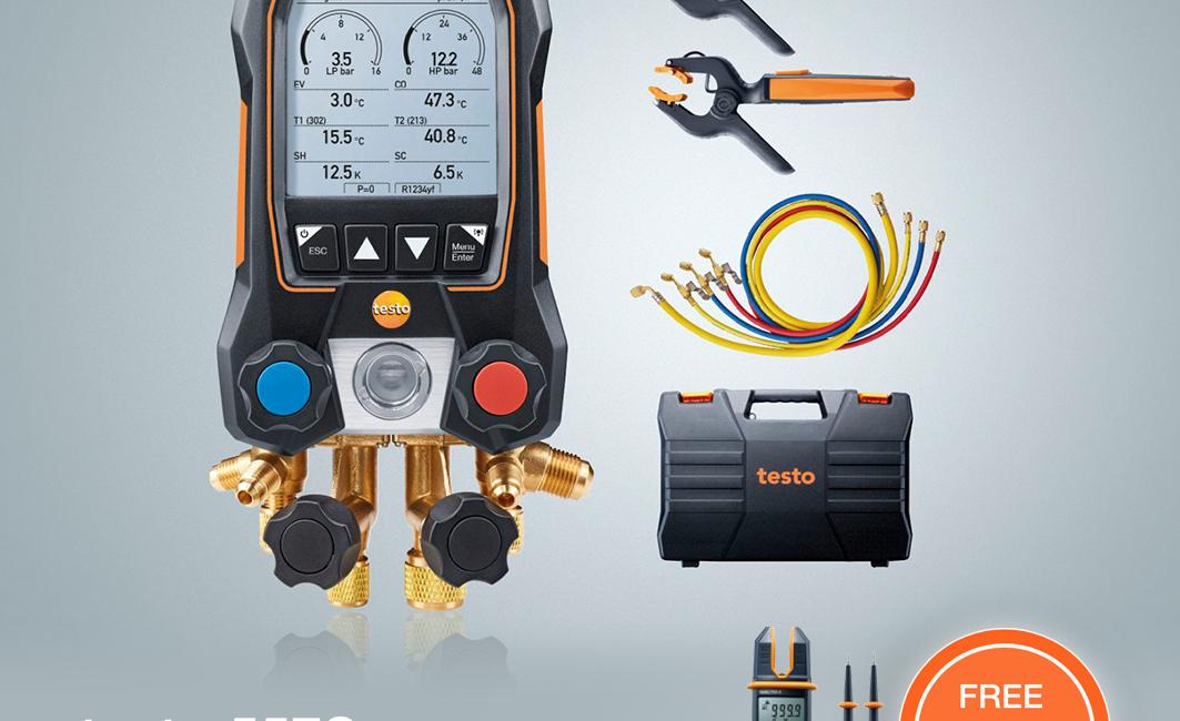 Keystone Instruments Promo testo 557S